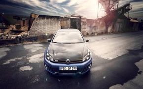 Picture car, car, golf