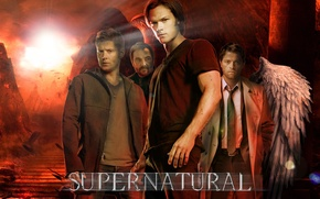Picture supernatural, dean winchester, sam winchester, hell, dreampiks