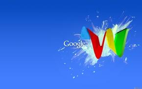 Wallpaper paint, google, Google