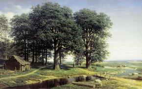 Picture grove, Klodt, PICTURE, Oak