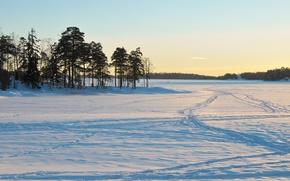 Picture winter, snow, landscape, nature, winter