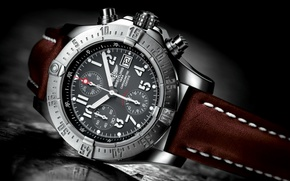 Picture watch, Swiss watch, breitling
