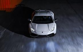 Picture LP640-4, Lamborghini, Novitec, Torado, White, Supercar, Front, Huracan