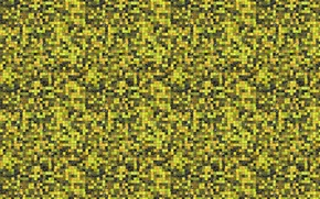 Picture yellow, mosaic, background, wall, tile, texture, small squares