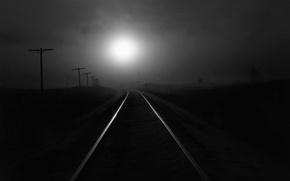 Picture light, the way, loneliness