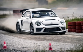 Picture White, Volkswagen, Beetle, Cars, 2014, GRC