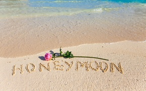 Picture sand, beach, love, beach, romantic, sand, tropical, honeymoon