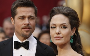 Picture actress, Angelina Jolie, actor, Brad Pitt