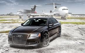 Picture Audi, aircraft, sedan, audi a8