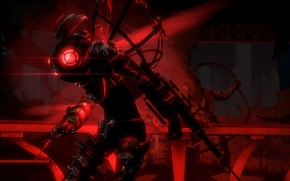 Picture background, the game, Remastered, Bioshock 2