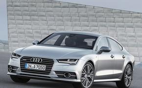 Picture Audi, TDI, Quattro, Sportback, S-Line, 3.0, 2014
