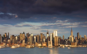Picture the city, building, home, New York, skyscrapers, USA, USA, NYC, New York City, skyscrapers