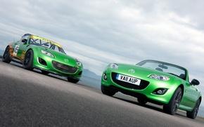 Picture two, Mazda, track