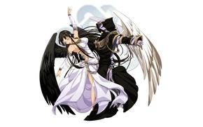 Picture dance, angel, anime, art