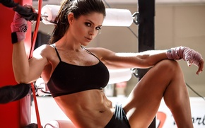 Picture look, pose, figure, the ring, fitness, figure, model, bandages, ring, look, pose, fitness, bandages, abs, …