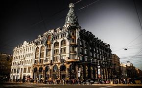 Picture the sky, clouds, Russia, Peter, Saint Petersburg, St. Petersburg, Nevsky Prospekt, Company Singer