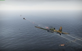 Picture flight, the plane, Il-2, WarThunder