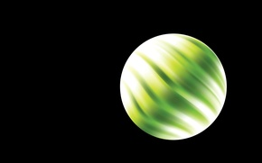 Picture planet, ball, round, art