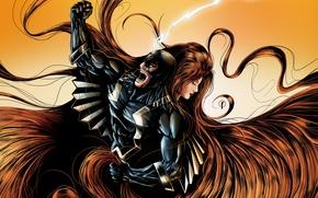 Picture Medusa, MARVEL, Marvel, medusa, Inhuman, Inhumans, Black Bolt, Black thunder