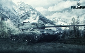 Picture Game, Art, Games, Art, World of Tanks, Wargaming Net, Leopard 1, Leopard 1, FuriousGFX