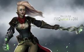 Picture girl, dragon age, the Inquisitor, bioware, fan art, inquisition, Dragon Age: Inquisition