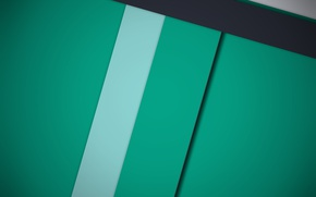Picture line, black, geometry, green, design, color, material
