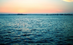 Wallpaper sea, wave, sunrise