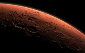 Picture surface, photo, planet, Mars, relief
