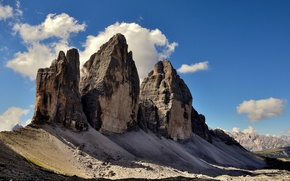 Picture Italy, The Three Peaks Of Lavaredo, The three Peaks of Lavaredo, Dolomites