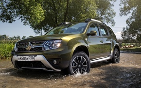 Wallpaper Renault, Reno, 2015, RU-spec, Duster