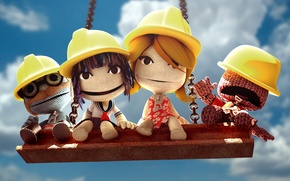 Wallpaper Doll, Little Big Planet, Men, Swing