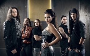 Picture metal, girl, rock, sexy, band, singer, amaranthe