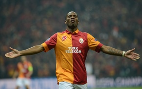 Picture football, Champions League, champions league, legend, drogba, Galatasaray