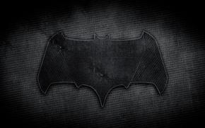 Picture batman, logo, Black, fabric