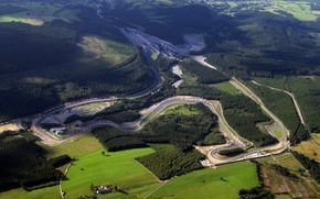 Picture track, Belgium, Circuit De Spa-Francorchamps, spa francorchamps