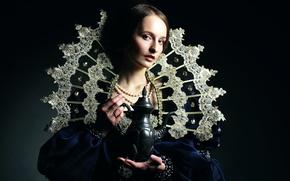 Picture portrait, art, Ann, renaissance