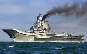 Picture cruiser, heavy, aircraft carrier, Admiral Of The Fleet Of The Soviet Union Kuznetsov