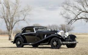 Picture car, Mercedes Benz, cars, classic, Cabriolet, 540K