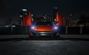 Picture night, supercar, Vorsteiner, tuning, rechange, McLaren, MP4-12c, McLaren MP4-VX