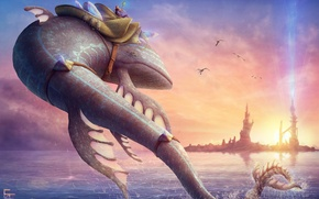 Picture fiction, fish, different
