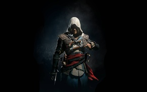 Picture Black Flag, Assassin's Creed IV: Black Flag, assassin, pirate, Edward Kenway