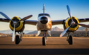 Picture bomber, the plane, Douglas A-26 Invader