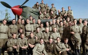 Picture pilots, air arrows, 566-th assault aviation regiment, the Il-2
