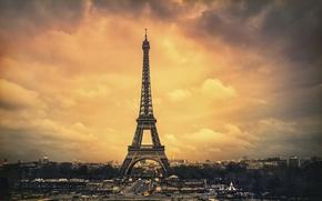 Wallpaper Paris, tower, the city
