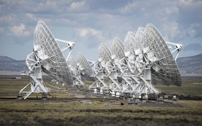 Picture the sky, antenna, New Mexico, technology, radio telescope