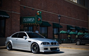 Picture silver, tuning, tuning, BMW, BMW, E46