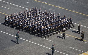 Picture holiday, victory day, form, parade, sailors, red square, March