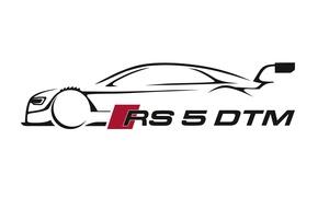 Picture Audi, audi, figure, DTM, motorsport, rs 5 dtm