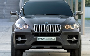 Picture concept, BMW, black, zatonirovany