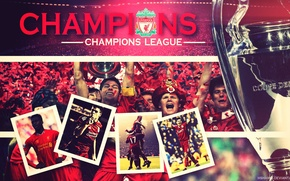 Wallpaper Sport, stadium, Cup, players, Champions League, Liverpool, Liverpool, Champions